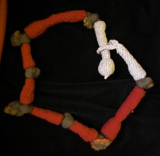 collana in maglia
